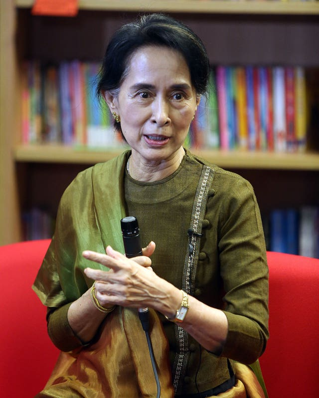 Foreign Secretary to hold talks with Aung San Suu Kyi on Sunday (Paul Faith/PA)