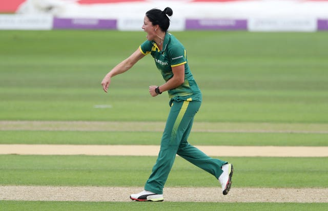 South Africa all-rounder Marizanne Kapp will join Oval Invincibles (David Davies/PA)