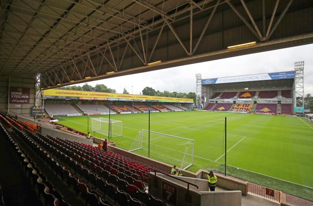 It is unclear when football will resume at Fir Park