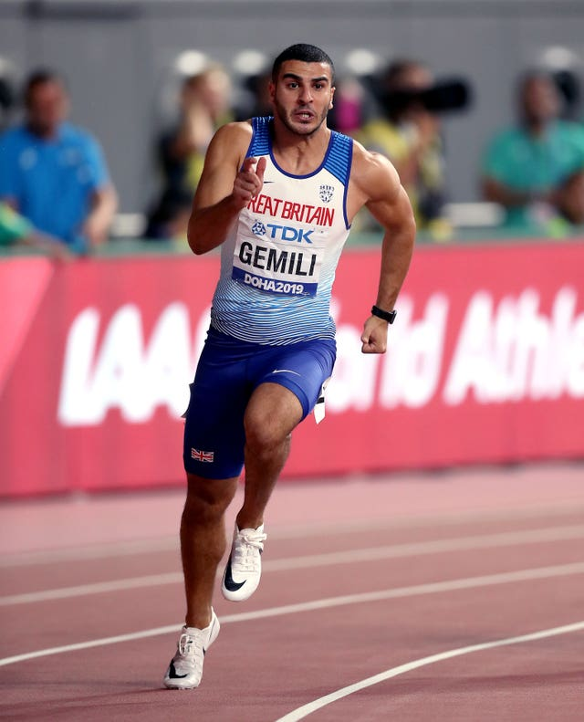 Great Britain sprinter Adam Gemili was pleased with the decision to postpone the Olympics to the following summer