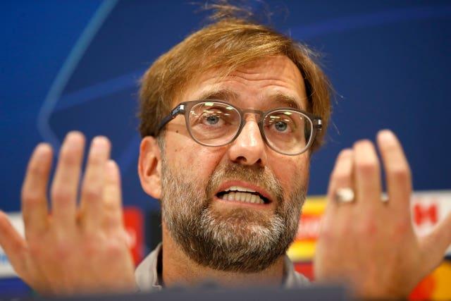 Jurgen Klopp's side face Genk in the Champions League