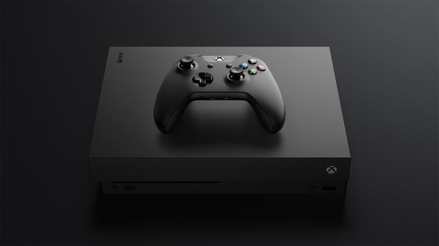 Xbox One X games console