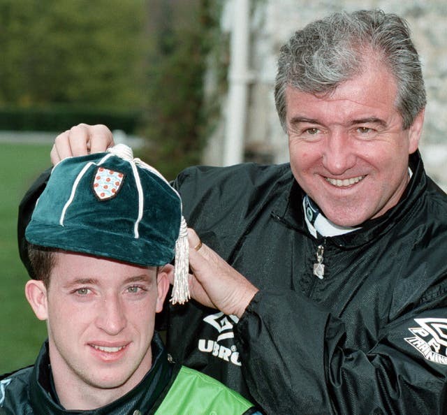 England coach Terry Venables handed Robbie Fowler his full senior debut in a 1996 friendly against Croatia.