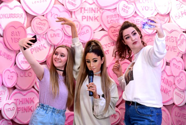 Madame Tussauds Ariana Grande Wax Figure Reveal – London
