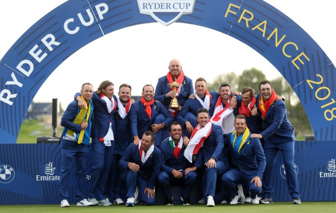 Team Europe were impressive as they reclaimed the Ryder Cup in Paris.