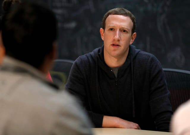 Facebook CEO Mark Zuckerberg announced the changes in a post on the site (Jeff Roberson/AP)