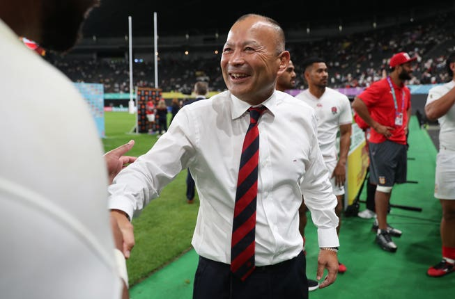 Eddie Jones is preparing for face the USA