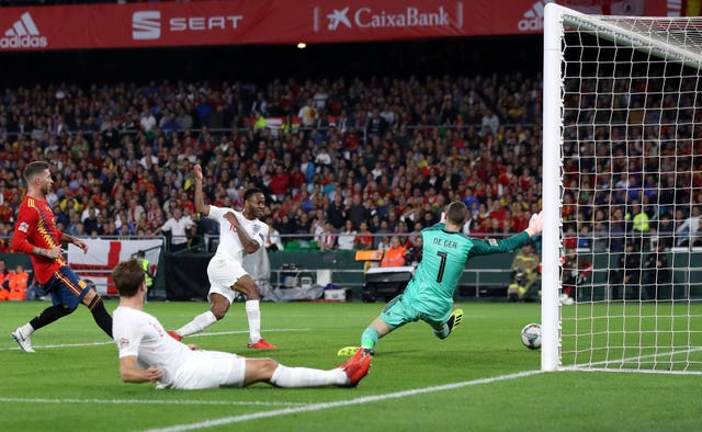 England beat Spain on their way to the Nations League finals