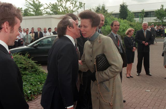 Sir Jackie has been friends with the Princess Royal for many years. Stefan Rousseau/PA Wire