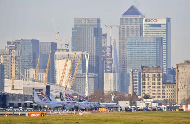 London City Airport closed