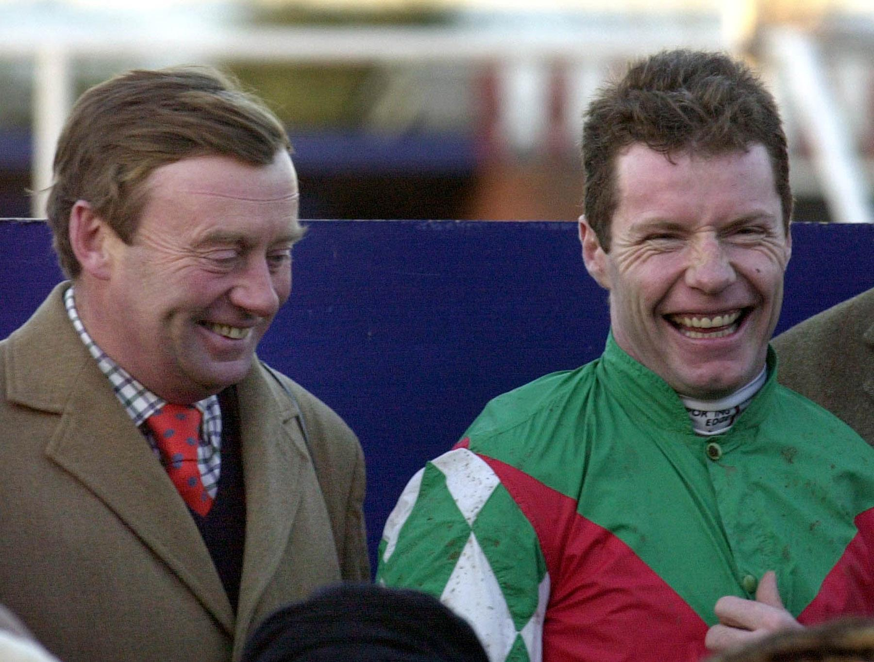Nicky Henderson (left) and Mick Fitzgerald formed a fantastic partnership