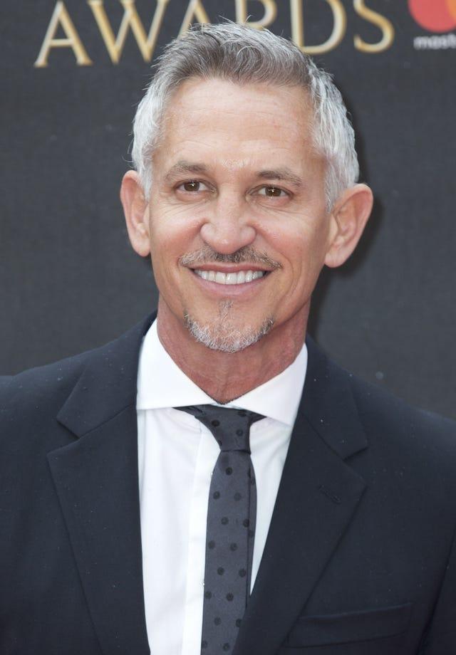 Gary Lineker file photo