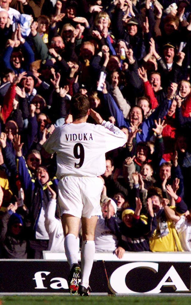 In November 2000, Mark Viduka scored four as Leeds won 4-3