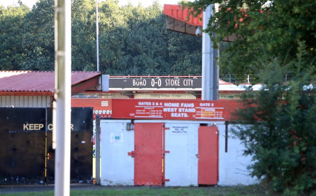 Stevenage's gates will be closed for some time