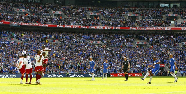 Drogba's strike in Chelsea's 1-0 defeat of Portsmouth in the 2010 final proved decisive