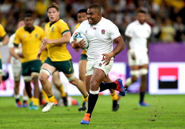 Kyle Sinckler scored his first Test try in the quarter-final triumph over Australia