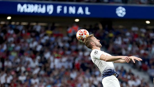 Harry Kane returned from injury to play in the 2019 Champions League final