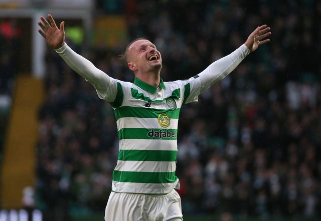 Griffiths has scored eight goals for Celtic since the winter break