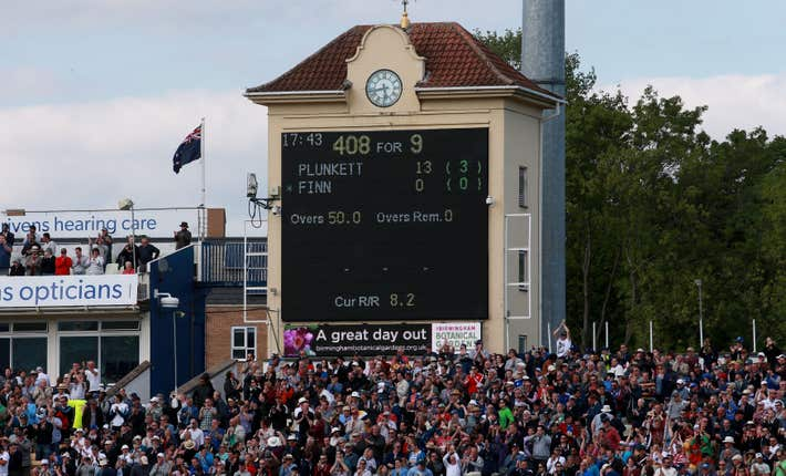 Cricket – Royal London One-Day Cup – England v New Zealand – Edgbaston