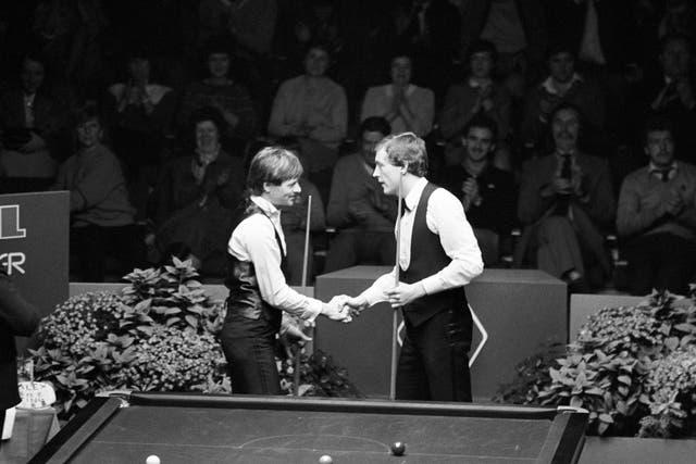 Snooker – Coral UK Snooker Championship – Final – Alex Higgins v Steve Davis – Guildhall, Preston