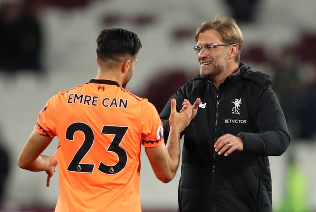 Klopp experienced a similar contract situation with Emre Can three years ago