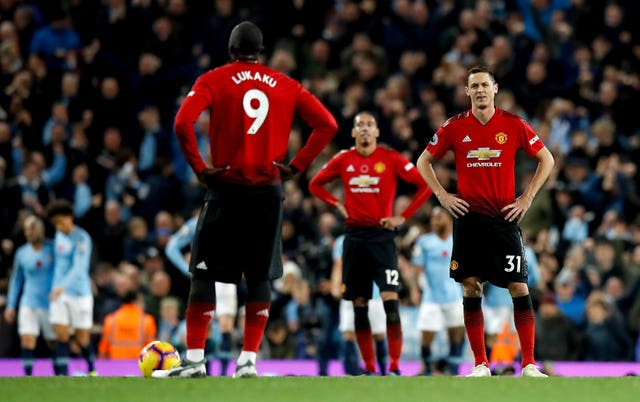 United were left disappointed at the Etihad Stadium