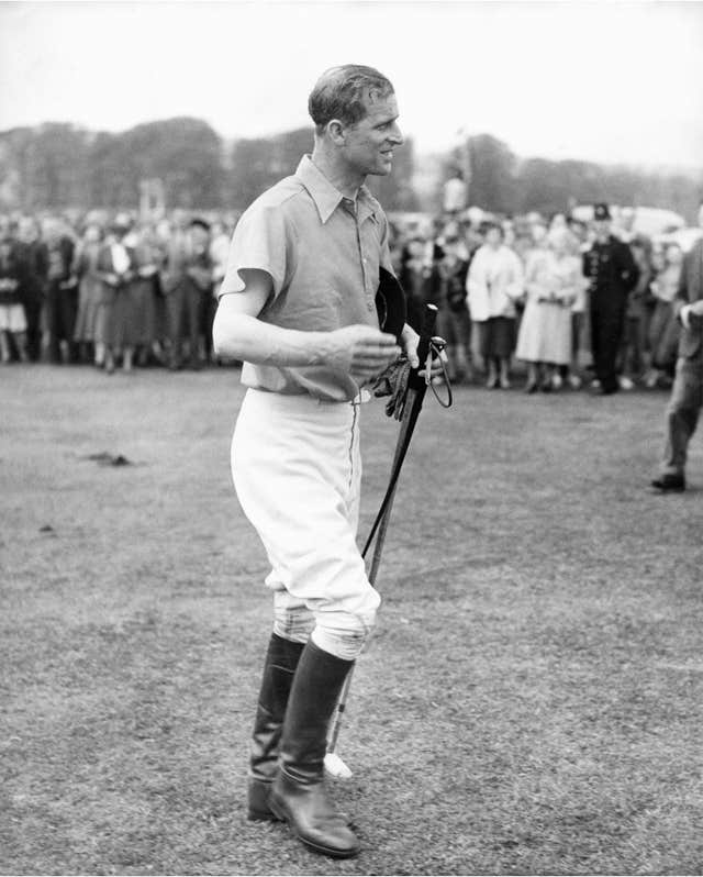 royalty – Prince Philip – Polo – Cowdry Park, Sussex