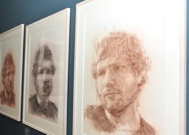 Ed Sheeran exhibition in Ipswich