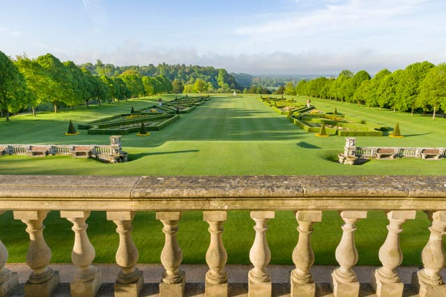 The view from Cliveden House Hotel (Cliveden House Hotel/PA)