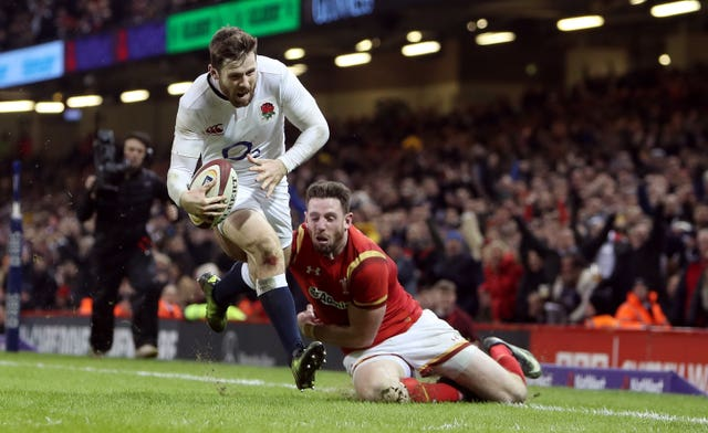 Elliot Daly helped England to victory over Wales in Cardiff