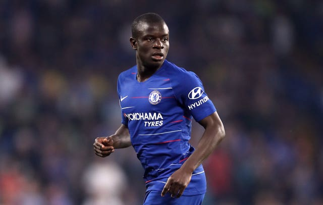 N'Golo Kante equalised early on for Chelsea
