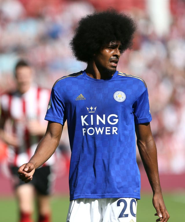 Hamza Choudhury's tackle was criticised by Jurgen Klopp