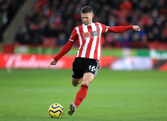 Oliver Norwood will be staying at Bramall Lane