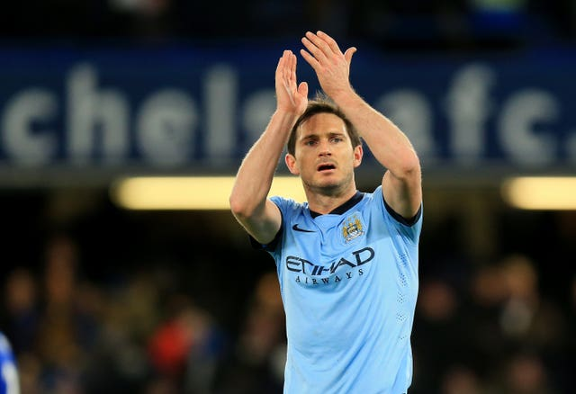 Frank Lampard during his Manchester City playing days