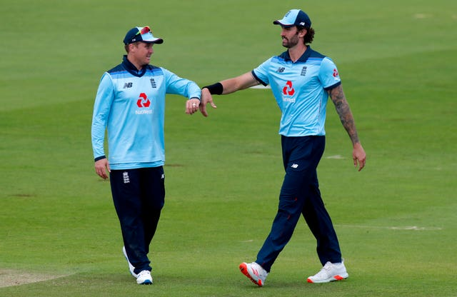 Reece Topley, right, has been included in both squads (Andrew Couldridge/PA)