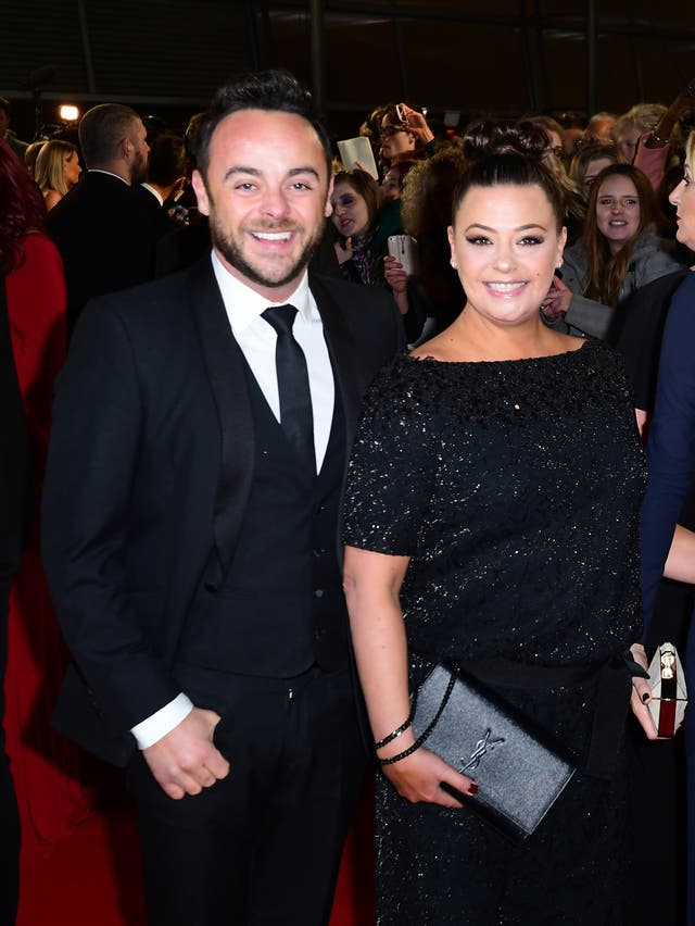McPartlin and Lisa Armstrong