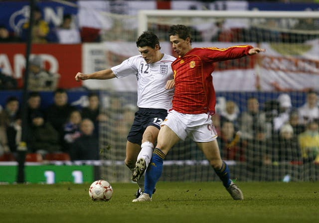 Atletico Madrid hotshot Fernando Torres, then 22, starred when England played Spain in a February 2007 friendly at Wembley