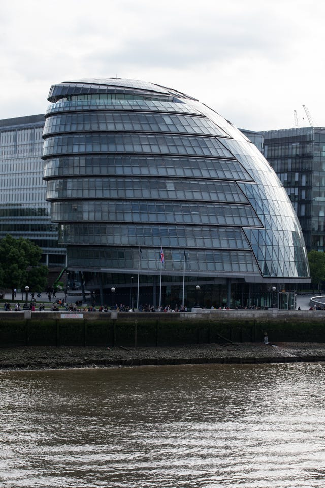 The Greater London Authority building (Steven Paston/PA)