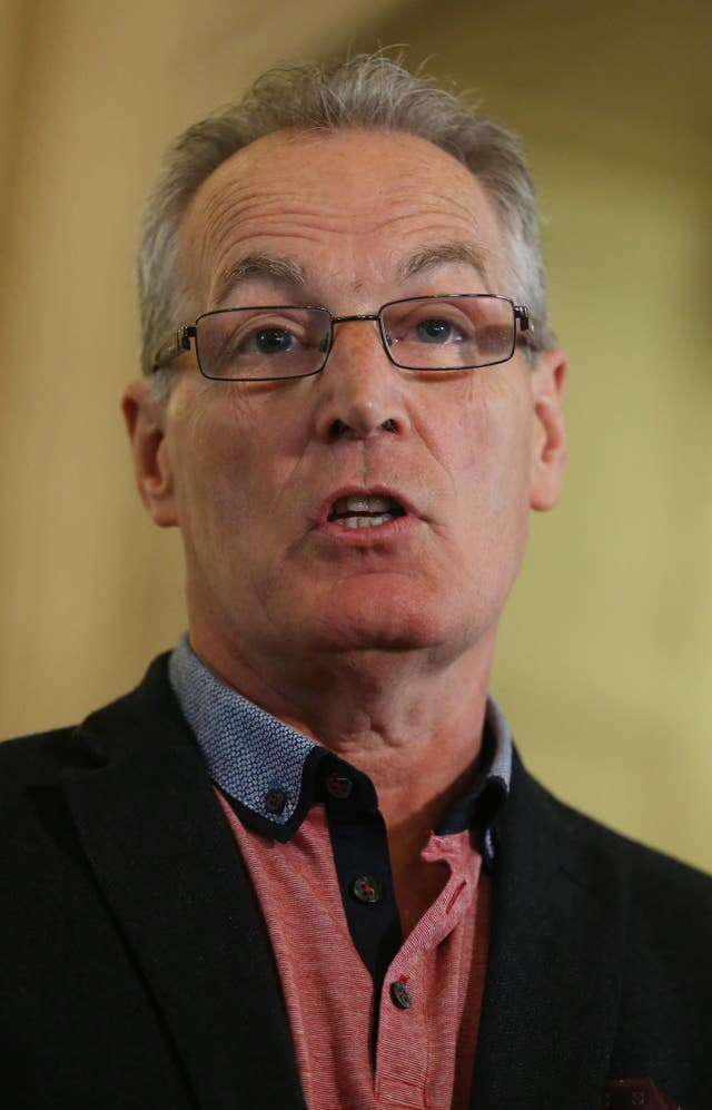 Gerry Kelly said funding promised for legacy inquests was agreed during talks to restart powersharing (Niall Carson/PA)