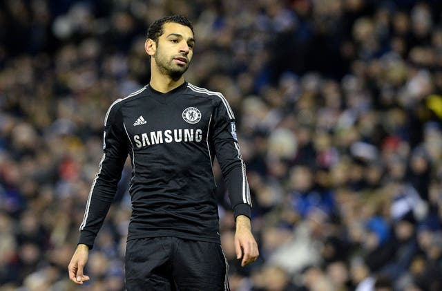 Mohamed Salah struggled to establish himself at Chelsea