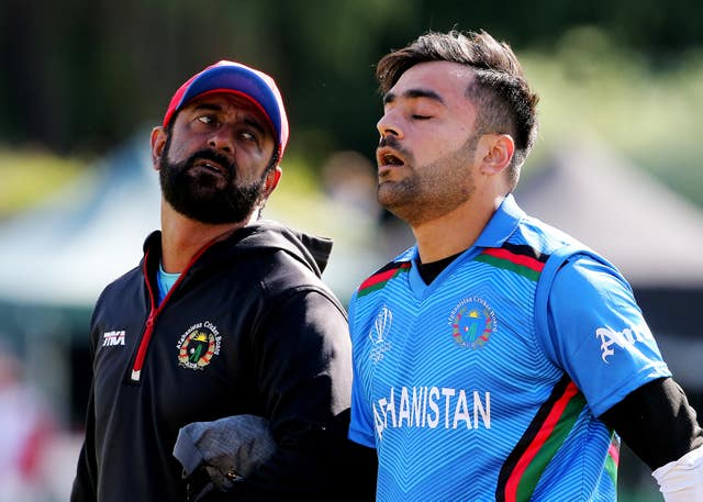 It was a day to forget for Afgahnistan's Rashid Khan