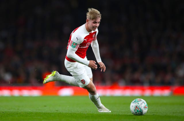 The likes of midfielder Emile Smith Rowe will be keen for another chance to impress Emery.