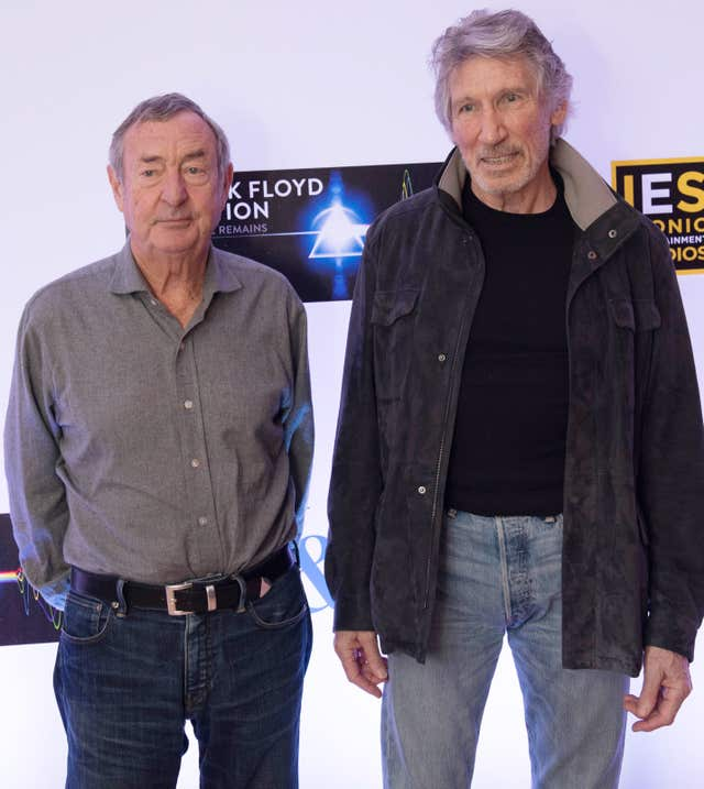 Nick Mason and Roger Waters press conference