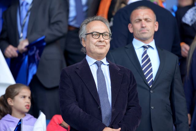 Owner Farhad Moshiri has invested heavily in Everton since buying the club