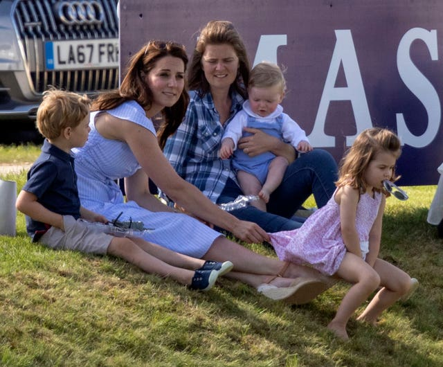 Kate, George and Charlotte