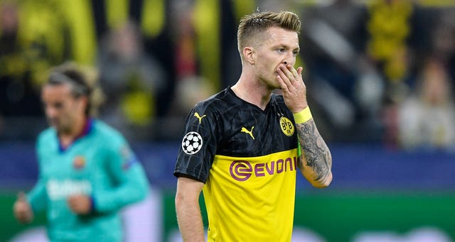 Marco Reus feels Dortmund can build on their draw with Barcelona. (AP)