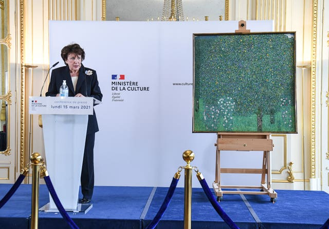 French culture minister Roselyne Bachelot