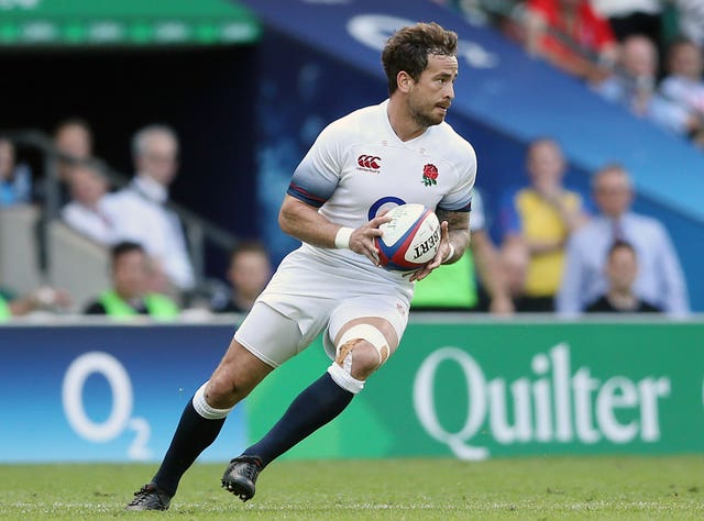 Danny Cipriani in England action against the Barbarians
