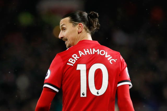 Ibrahimovic spent nearly two years at Manchester United before leaving in March 2018