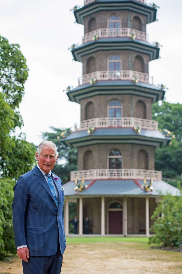 Prince of Wales visits Royal Botanic Gardens in Kew
